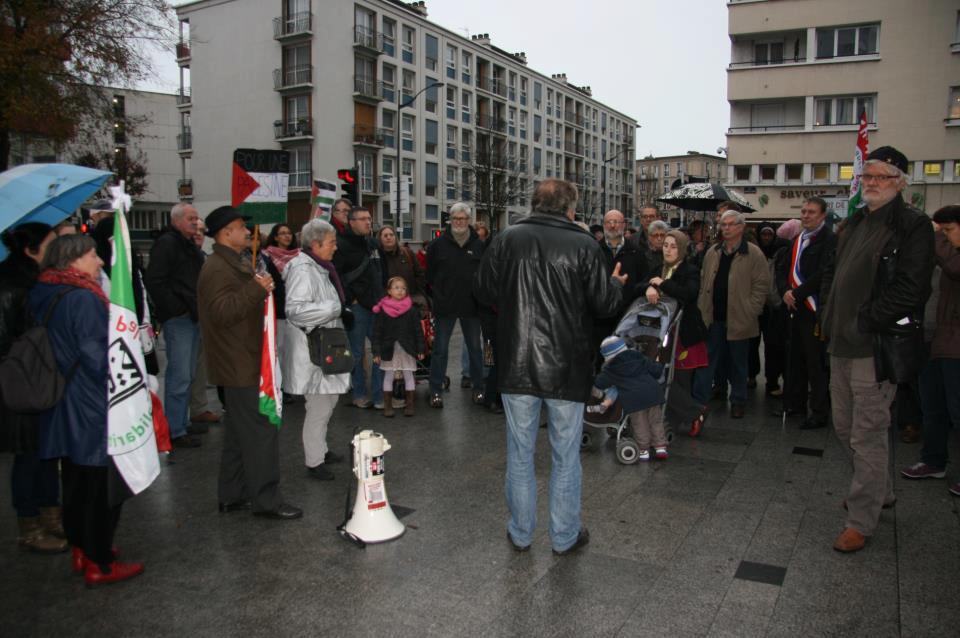 Manifestation au Havre contre l'agression israélienne à Gaza - 17/11/12